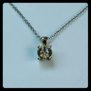 Swarovski crystal stainless steel necklace